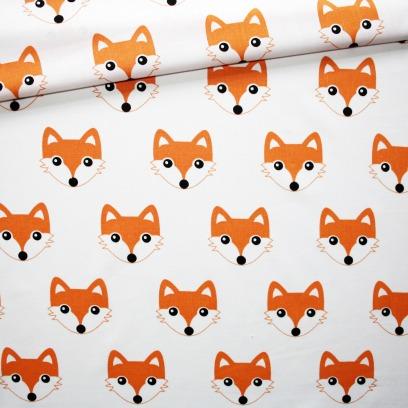 Tissu tête de renard