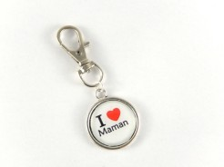 porte clés i love maman