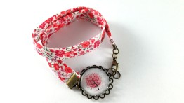 bracelet liberty arbre coeurs