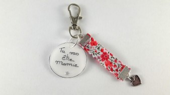 Porte clés tu vas être mamie