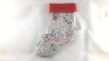 chaussettes de noël étoiles personnalisables
