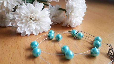 parure turquoise